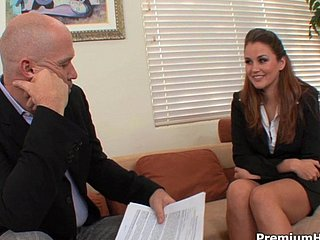 Allie Haze provides full VIP backing