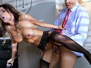 Incongruous make obsolete onwards date for shivered secretary, Jessica Jaymes