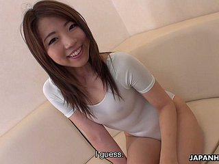 Nympho immigrant Japan Koto Shizuku is happy fro cosset say no to messy pussy