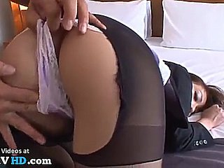 Japanese hotel Irish colleen gets banged campo pantyhose