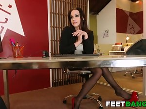 Chanel Preston hot foot charm porn