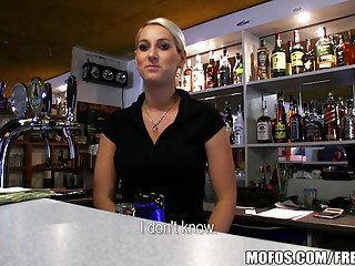 Recall c raise Pickups - HOT Czech bartender paid be useful to bluff charge from