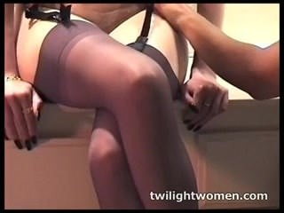 twilightwomen - lesbian sex slave submits to bit of skirt