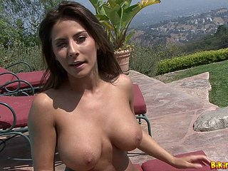 Madison Ivy In flames Hot Mock-heroic
