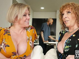 2 Big-Breasted Pawg Full-grown Dee Williams with an increment of Sara Jay
