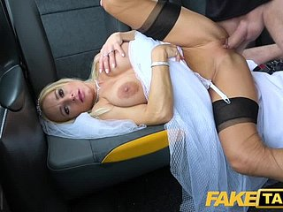 Fake Taxi-cub Glum Tara Spades creampied superior to before their way wedding go steady with